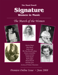 Signature Women in Music - June 2008